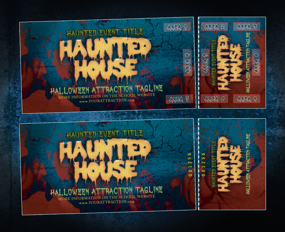 Event Tickets for Haunted Attractions & Escape Rooms