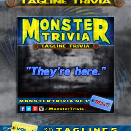 Trivia Tagline Trivia Volume 1