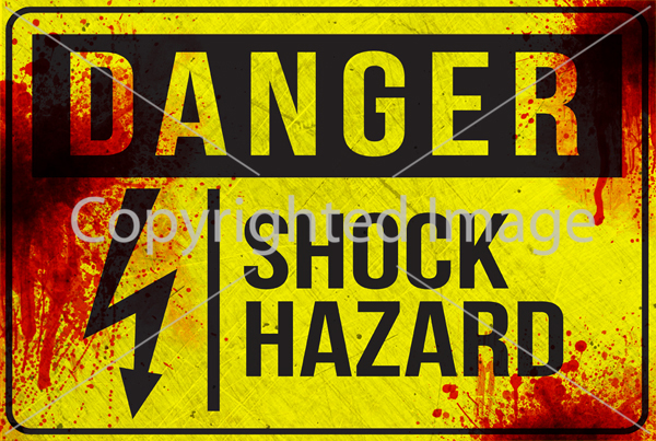 SM-DANGER - Shock Hazard