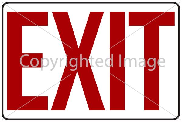 SM - Exit White