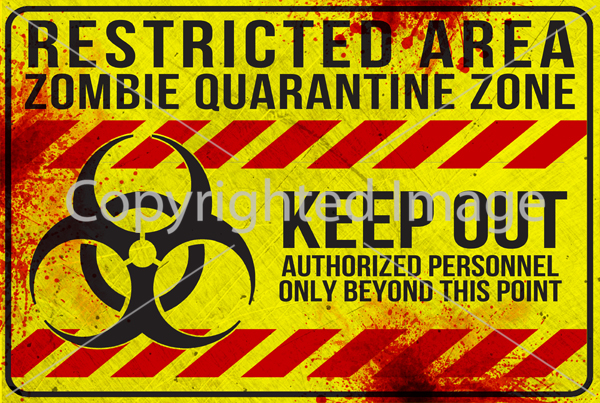 SM-WARNING - Restricted Area