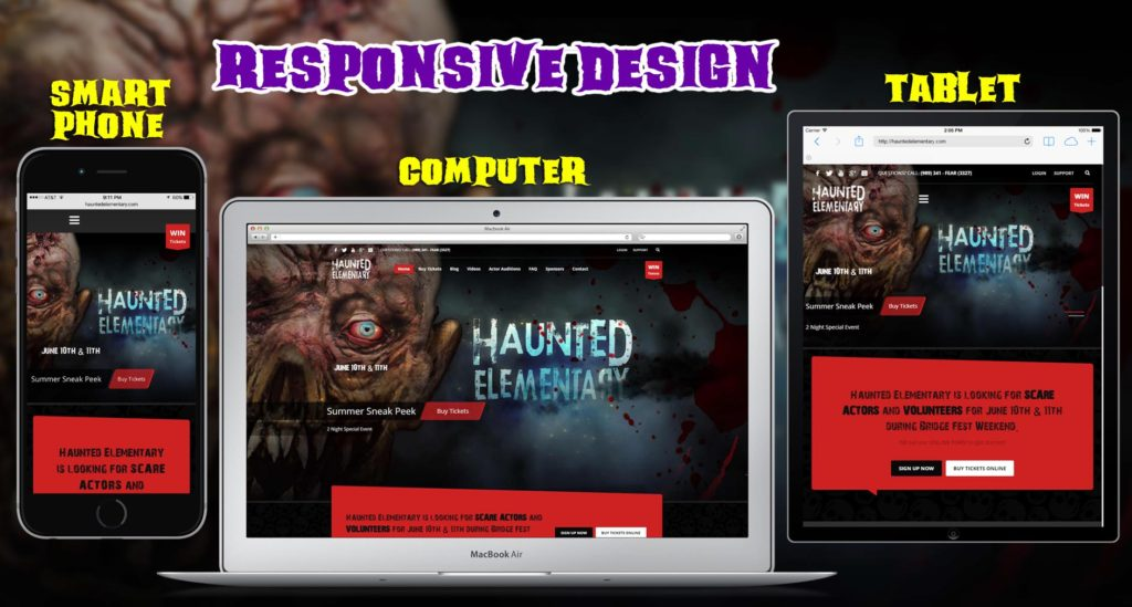Responsive Web Design makes your web page look good on all devices (desktops, tablets, and phones)