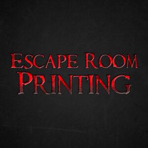 Escape Room Printing