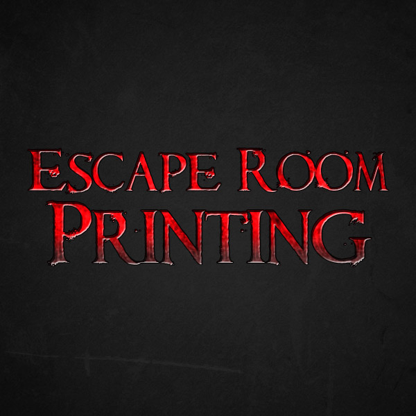Escape Room Printing