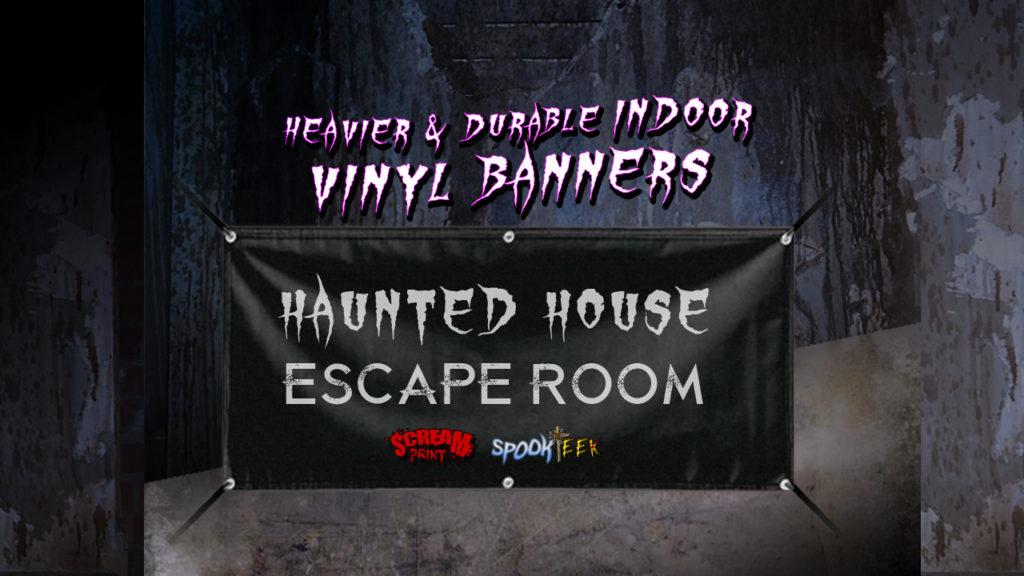 Indoor Vinyl Banner | Heavier & Durable 15oz Blockout Vinyl