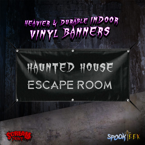 Heavier & Durable Indoor Vinyl Banner | 15oz Blockout Vinyl