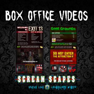 Digital Box Office Menus