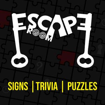 image regarding Escape Room Signs Printable named Escape Area Membership