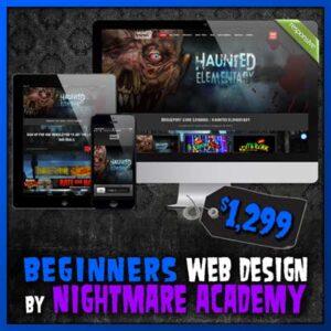 Haunted House Website Design by Nightmare Academy Web Design