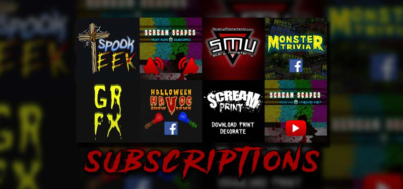 Haunted House Marketing Spookteek Subscriptions