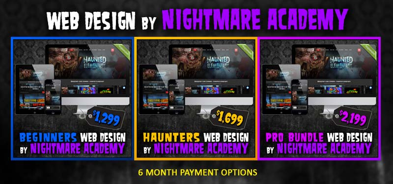 Web Design by Nightmare Academy